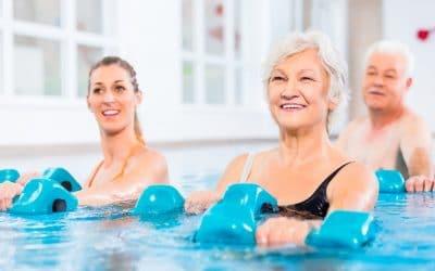 Warmwasser Gymnastik