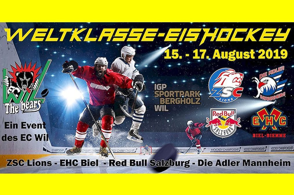 Weltklasse-Eishockey  15. – 17. August 2019